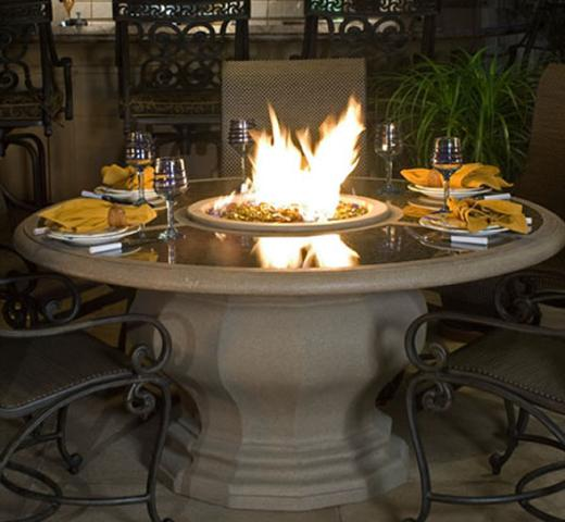 propane fire pit tables southern california
